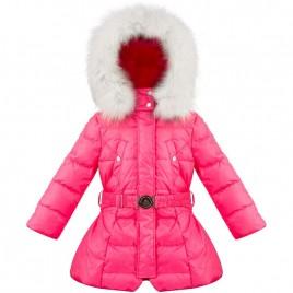 Girls down coat ambrosia pink