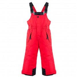 Boys ski pants scarlet red