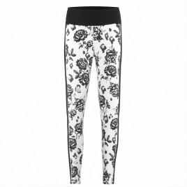 Womens base layer brown flower/black pants