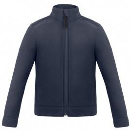 Boys micro fleece jacket gothic blue