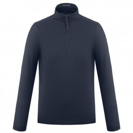 Boys base layer gothic blue with zip