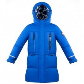 Boys down coat true blue
