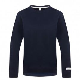 Womens blue cotton sweatshirt