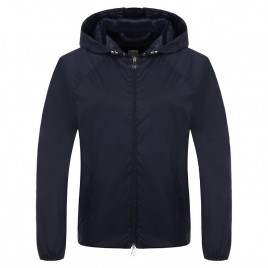 Womans jacket with hoody