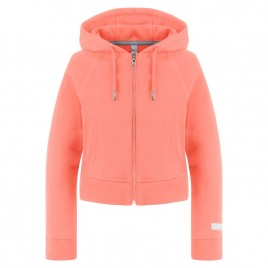 Girls cotton jacket with hoody