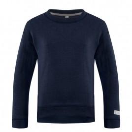 Girls blue cotton sweatshirt