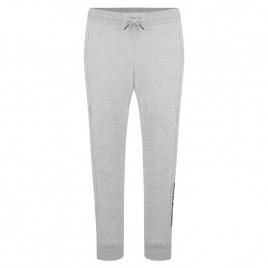 Girls cotton pants melange grey