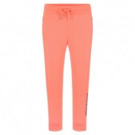 Girls cotton pants candy orange