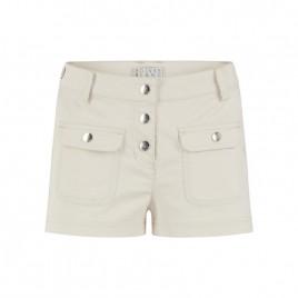Girls cotton shorts moon grey
