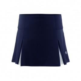 Girls meryl skort oxford blue/white