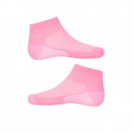 Girls tennis socks bubble pink