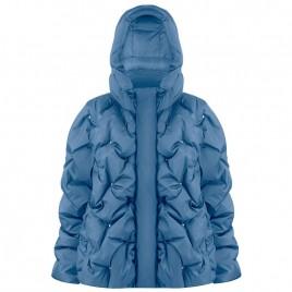 Womens oversize twilight blue jacket
