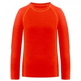 Womens merino shirt rhubarb