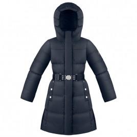 Girls down coat gothic blue