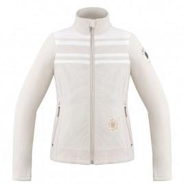 Girls fleece jacket multico grey