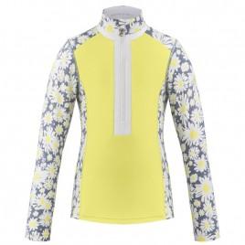Girls base layer shirt multico yellow