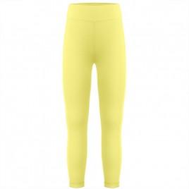 Girls base layer pants aurora yellow
