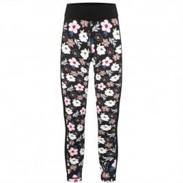 Girls base layer pants multico black