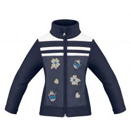 Girls fleece jacket gothic blue
