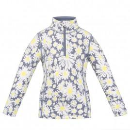 Girls base layer sweater daisy yellow