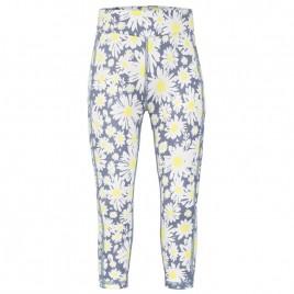 Girls base layer pants daisy yellow