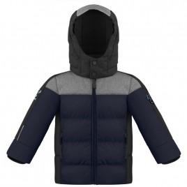 Boys down jacket multico gothic blue