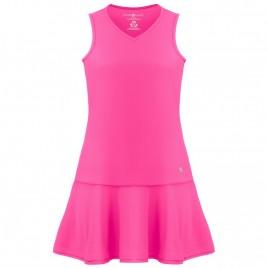 Womens dress lady pink