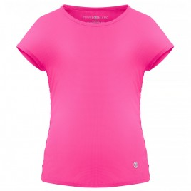 Girls eco light lady pink t-shirt (recycled)