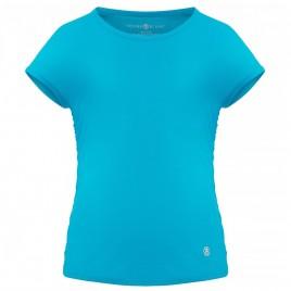 Girls eco light creamy blue t-shirt
