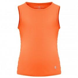 Girls eco active light tank indian orange