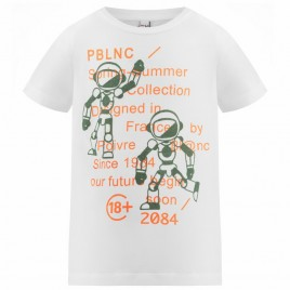 S21-4410-JRBY T-SHIRT white/peacock green 8 years