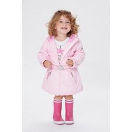 Girls padded coat angel pink