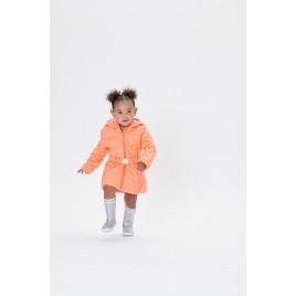 Girls padded coat indian orange