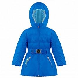 Girls padded coat king blue