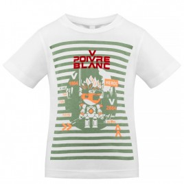 S21-4411-BBBY T-SHIRT white/peacock green 2 years