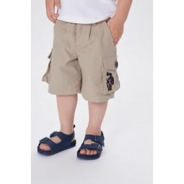 Boys shorts safari gold